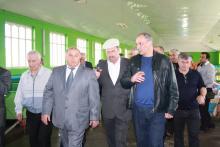 Визит Президента РД в Тарумовский район