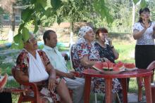Открытие дома пенсионеров