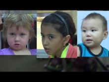 Embedded thumbnail for «Если владеете какой-либо информацией о детях на этих кадрах или узнали их, пишите по адресу children@rttv.ru».