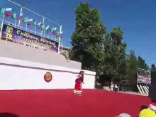 Embedded thumbnail for Жанна Алиева на Юбилее города Каспийска